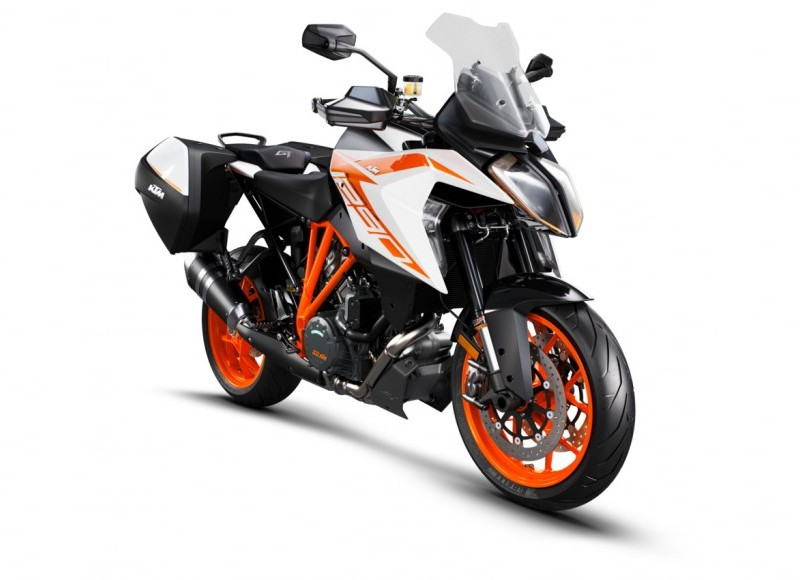 2019 KTM 1290 Superduke GT ORANGE With panniers