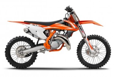 KTM SX 125 2018 side view