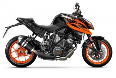 2019 KTM 1290 SUPERDUKE R BLACK/ORANGE