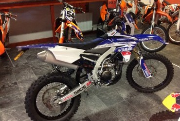 2016 YAMAHA WR 250 F low miles 256 only 'not shown in shop'