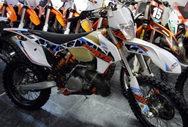 'NEW IN' 2015 KTM 300 exc 6 days