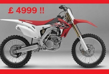 NEW 2017 HONDA CRF250R