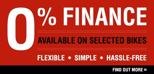 0% Finance available on selected KTM bikes