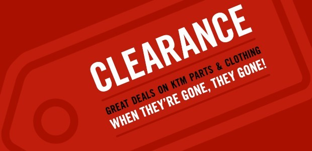 Clearance at Triple D Motosport