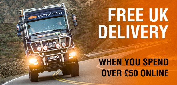 Free UK Delivery when you spend over £50 online