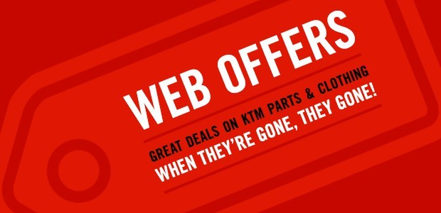 Web Offers at Triple D Motosport