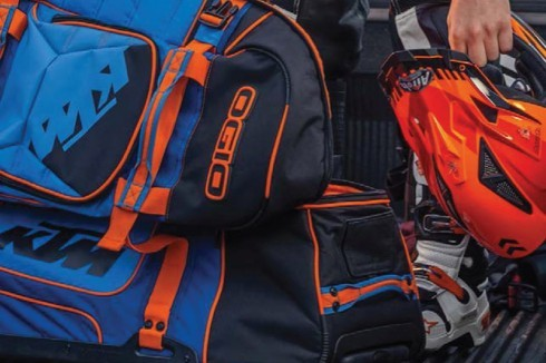 KTM rucksacks and bags