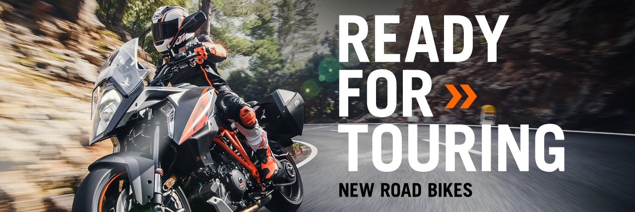 Ready for touring with 2016 Road bikes from KTM at Triple D
