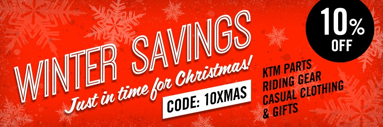 Winter Savings - just in time for Christmas! Code: 10XMAS