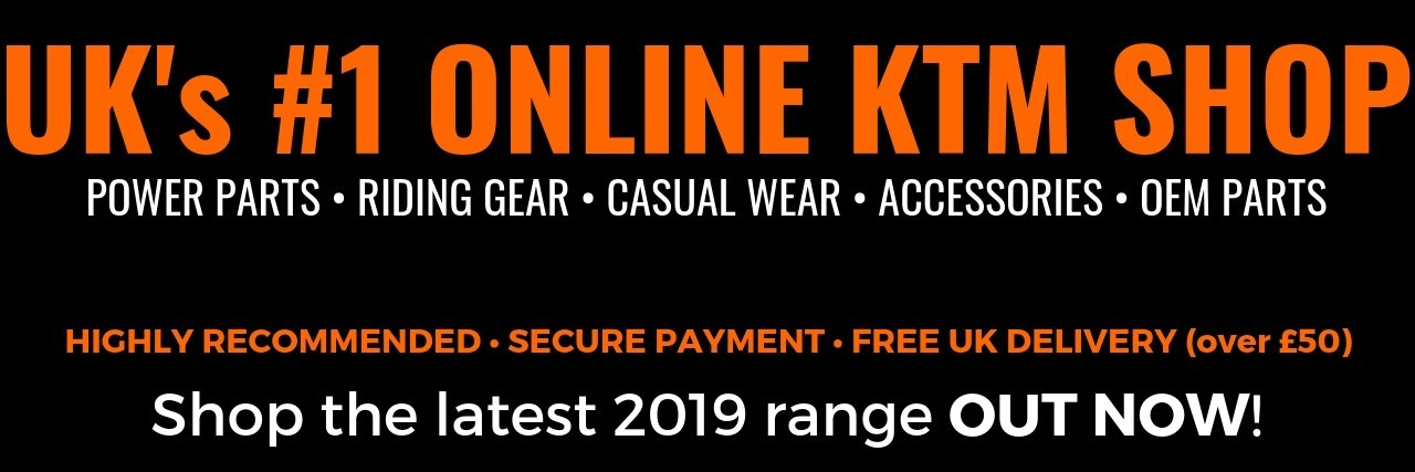 UK's No.1 Online KTM Shop