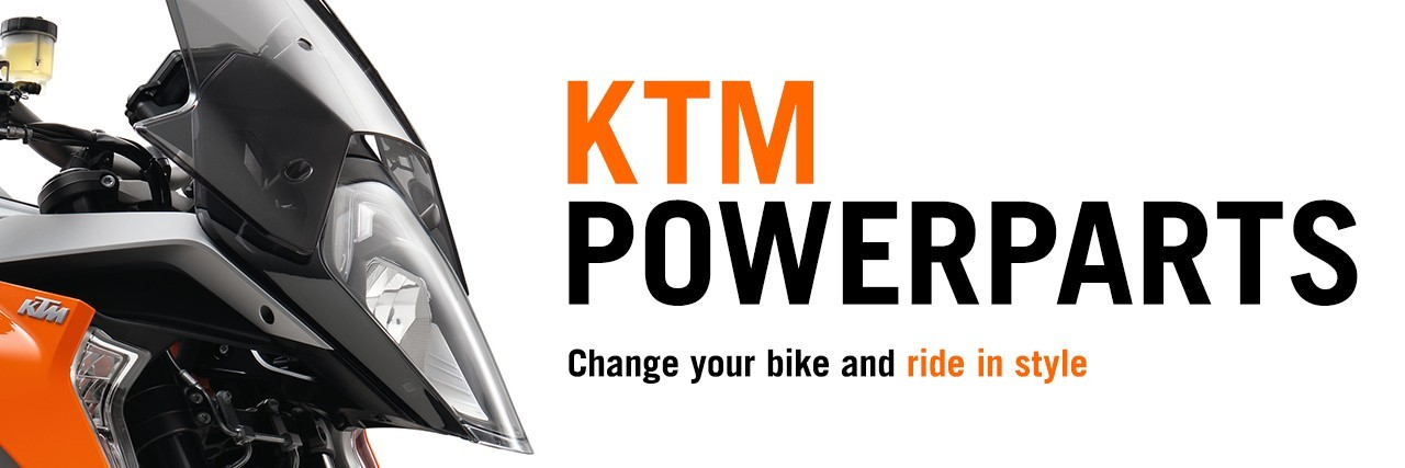 Change your bike and ride in style with KTM PowerParts