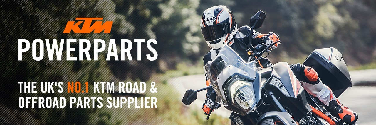 The UK's No.1 KTM road & offroad parts supplier
