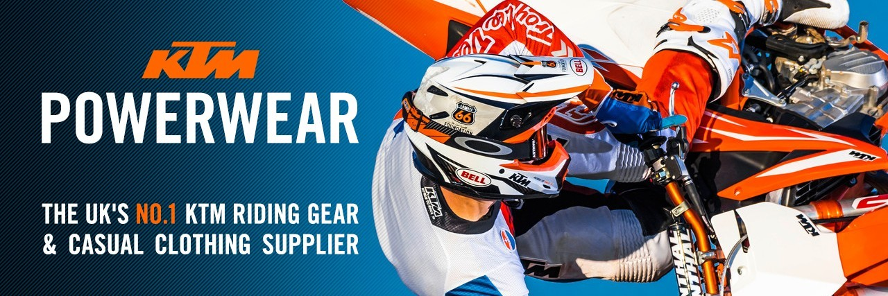 The UK's No.1 KTM riding gear & casual clothing supplier