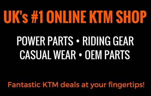 UK's No. 1 KTM Online Shop