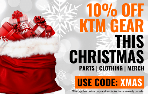 10% off KTM Gear at Christmas