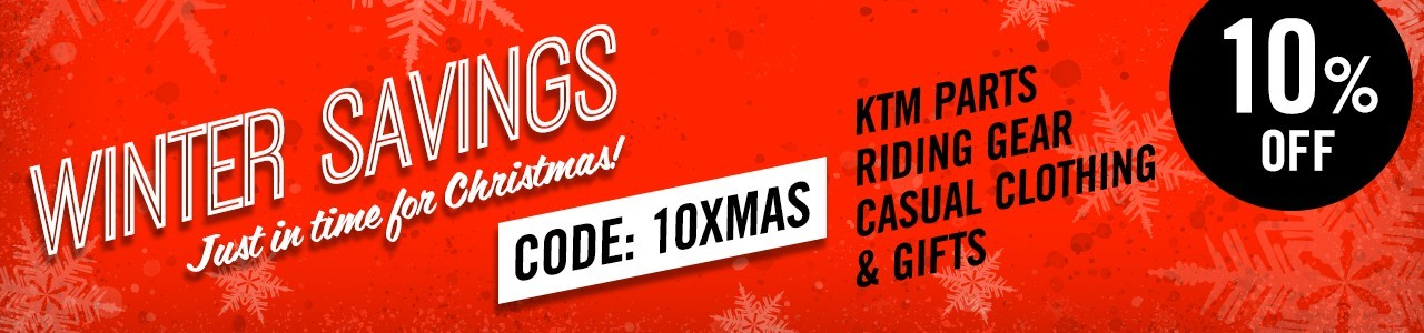 Winter Savings - just in time for Christmas. 10% off with discount code 10XMAS