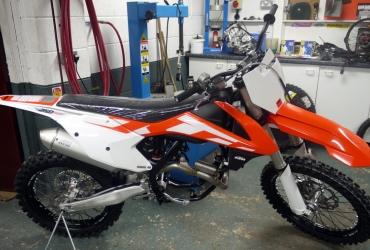 2016 250 sxf VERY limited parts now