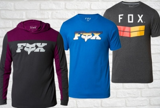 FOX Racing Casual Wear Sets The Trend For 2020