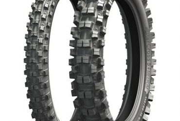 "MICHELIN MS5 TYRE SET 100-19 OR 110/90-19 REAR AND 21"" FRONT"