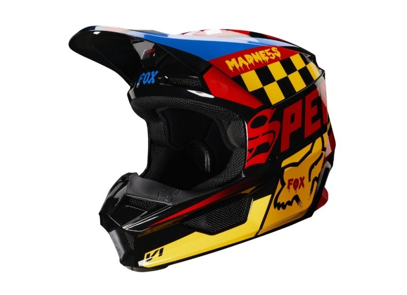FOX CZAR YOUTH HELMET LHS