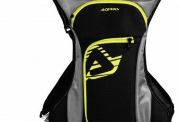Acerbis Drink Backpack Bag Black Yellow