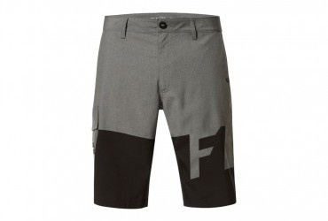 2020 FOX ESSEX TECH PRINT SHORTS GREY