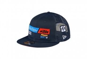 2020 TLD KTM Team snapback Hat navy