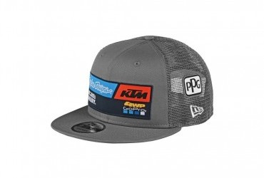 2020 TLD KTM Team Snapback Grey