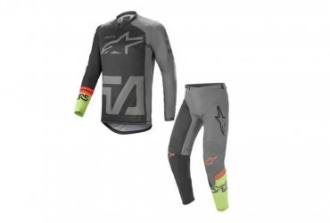 2021 Alpinestars Compass Grey/Green Bundle Deal