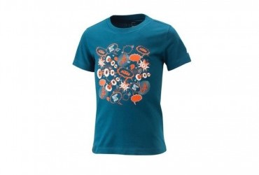 2021 KTM KIDS RADICAL TEE BLUE
