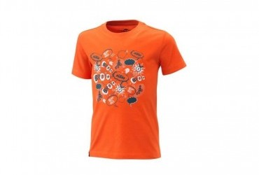 2021 KTM KIDS RADICAL TEE ORANGE
