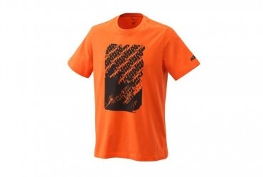 2021 KTM RADICAL LOGO TEE ORANGE