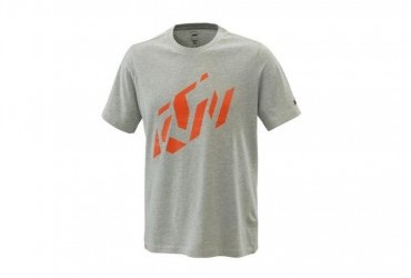 2021 KTM RADICAL SLICED TEE GREY MELANGE