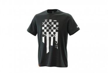 2021 KTM RADICAL SQUARE TEE BLACK