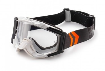 GOGGLES RACING WHITE