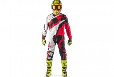 Acerbis Profile Kit Red/White pant and jersey only
