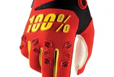 100% AIRMATIC RED GLOVES