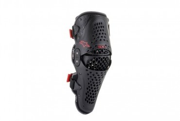 ALPINESTARS SX1 V2 KNEE GUARD BLACK/RED
