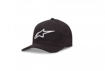 ALPINESTARS AGELESS CURVE HAT BLACK/WHITE