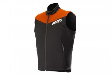 2021 ALPINESTAR SESSION GILLET BLK/OR