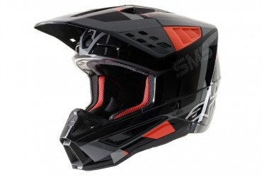 ALPINESTAR SM-5 ROVER HELMET ANTHRACITE/RED