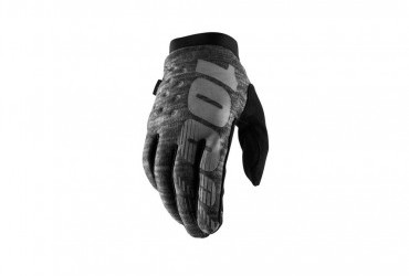 100% BRISKER HEATHER GREY GLOVE