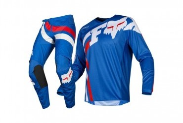 Fox Racing 2019 180 COTA Jersey and Pants Combo Offroad Gear Set Adult Mens Blue