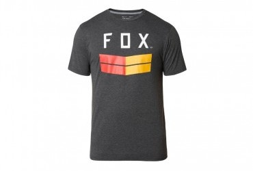 Fox Frontier SS Tech Tee heather black