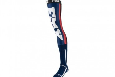 FOX Knee Brace Socks navy/red