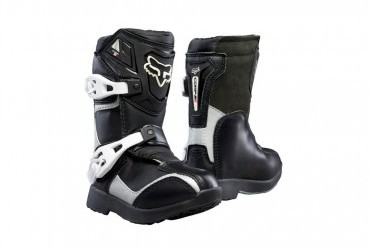 FOX KIDS PEE WEE BOOT BLACK/SILVER