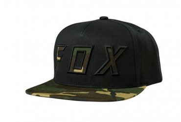 FOX POSESSED SNAPBACK HAT BLACK