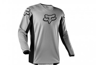 FOX Prix Jersey Grey