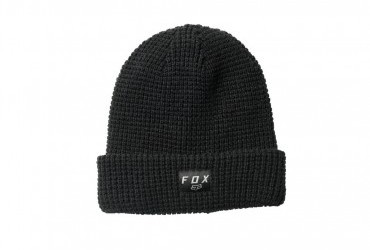 FOX REFORMED BEANIE BLACK