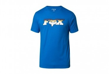 2020 Fox Slider SS Premium Tee Blue